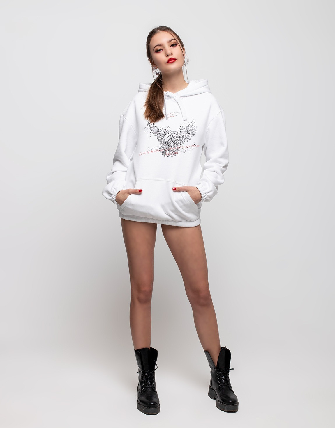 hoodie dove